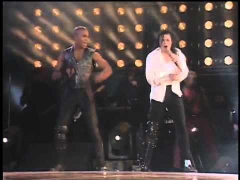 Michael Jackson - Black Or White Live In Mexico City (HD)