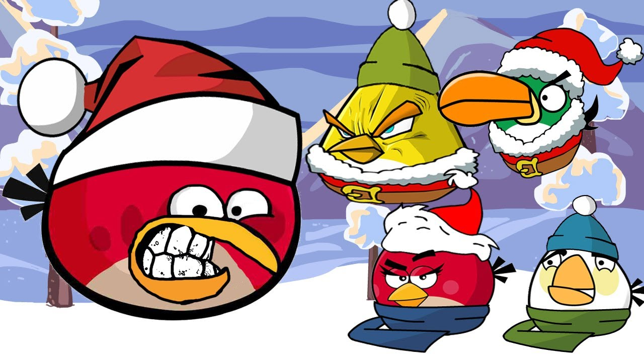 angry christmasangry birds christmas craziness - Christmas Angry Birds