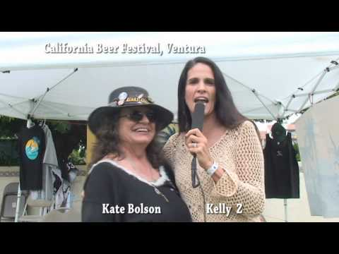 Kate Bolson [Bluesaholics] Chats With Kelly Z @ The California Beer Festival