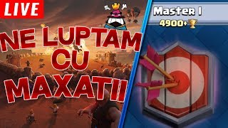 🔴[LIVE] STRIC O GENERATIE DE MAXATI PE CLASH ROYALE! Clash Royale Romania