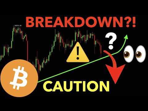 BE CAREFUL | BITCOIN IS AT CRITICAL LEVELS!!!