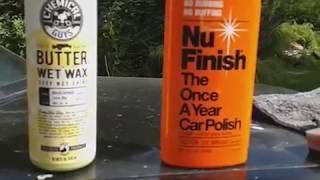 Chemical guys butter wet wax vs nu finish car polish