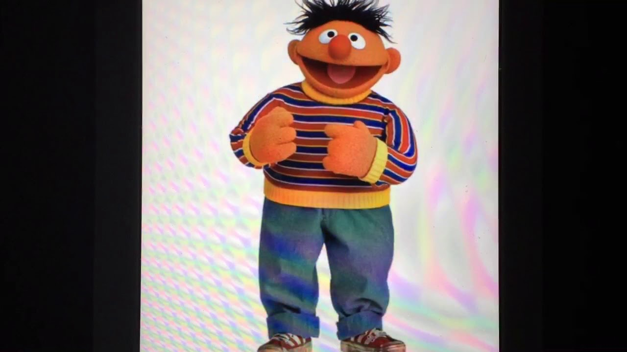 ERNIE STRIPES FROM SESAME STREET