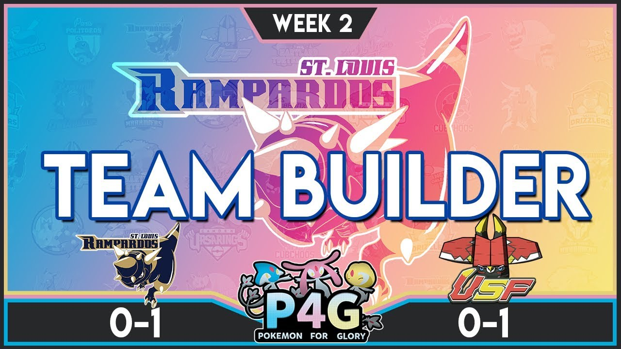 St. Louis Rampardos Team Building P4G S3 W2: VS South Florida Bulus | Pokemon Ultra Sun and Moon