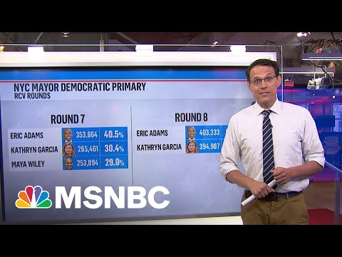 Kornacki Crunches Numbers From New York City Mayoral Race   MSNBC