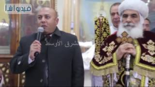 بالفيديو: عبد الباسط يهنىء الإخوة الأقباط  بــ عيد الميلاد المجيد