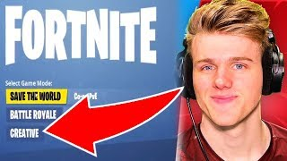 Mode CREATIVE Fortnite NOUVEAU - Pourquoi Lachlan LEAKED Gameplay! (Fortnite Saison 7)