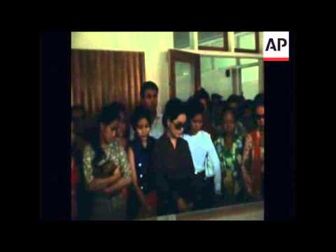 SYND 22/06/1970 FORMER PRESIDENT SUKARNO OF INDONESIA DIES