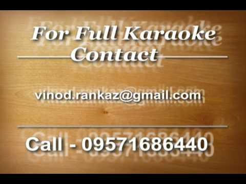 Duniya Ne Mujhko Samjha Nakara   Karaoke   Nalayak