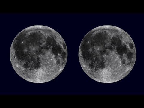 Lunar rotation in parallel 3D