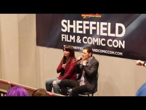Torchwood Q&A with Eve Myles and Burn Gorman at Sheffield Film & Comic Con 2014