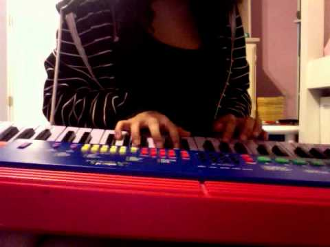 The Cure on a Child's keyboard