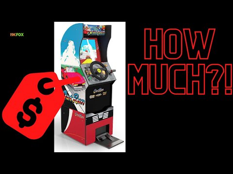 Arcade1up Outrun Stand Up price revealed!! from 19kfox