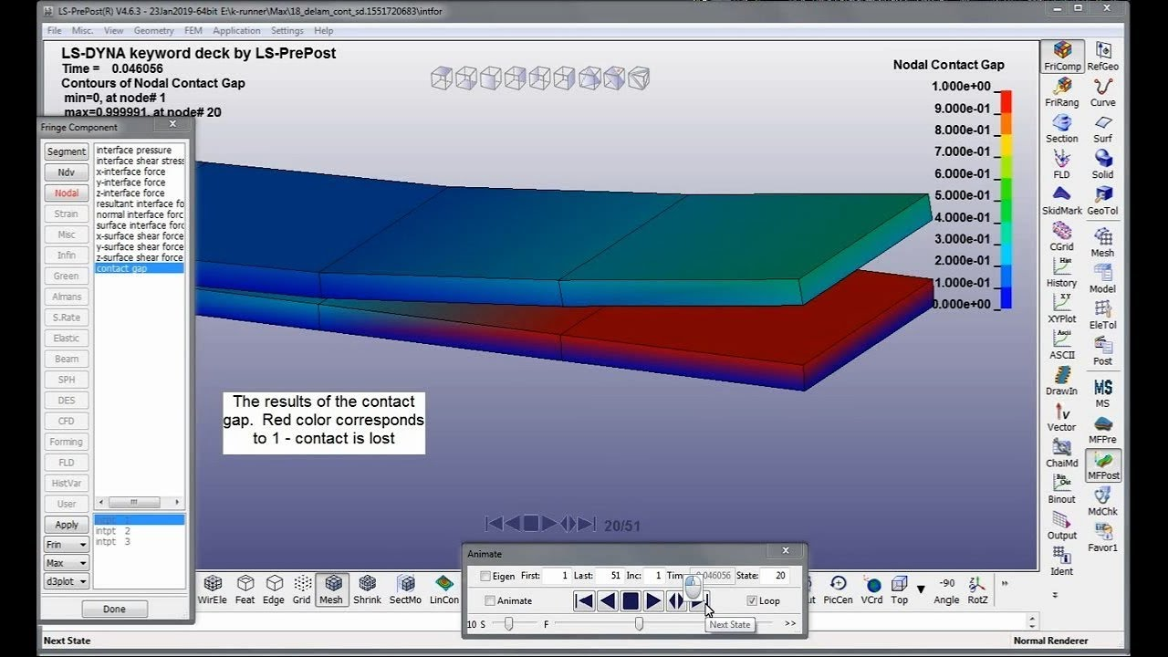 Modeling of composites in LS-DYNA  Part 2  Video tutorial (incomplete)