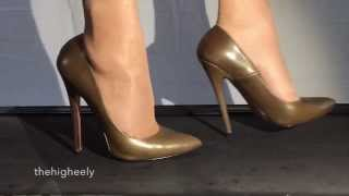7 inch High-Heels in slow motion - Part II
