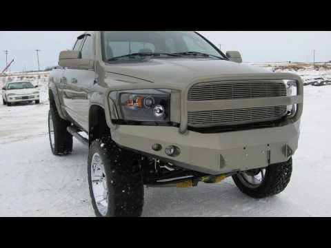 custom blueskys edition dodge ram 3500 lifted youtube - Dodge Ram 3500 Dually Lifted With Stacks