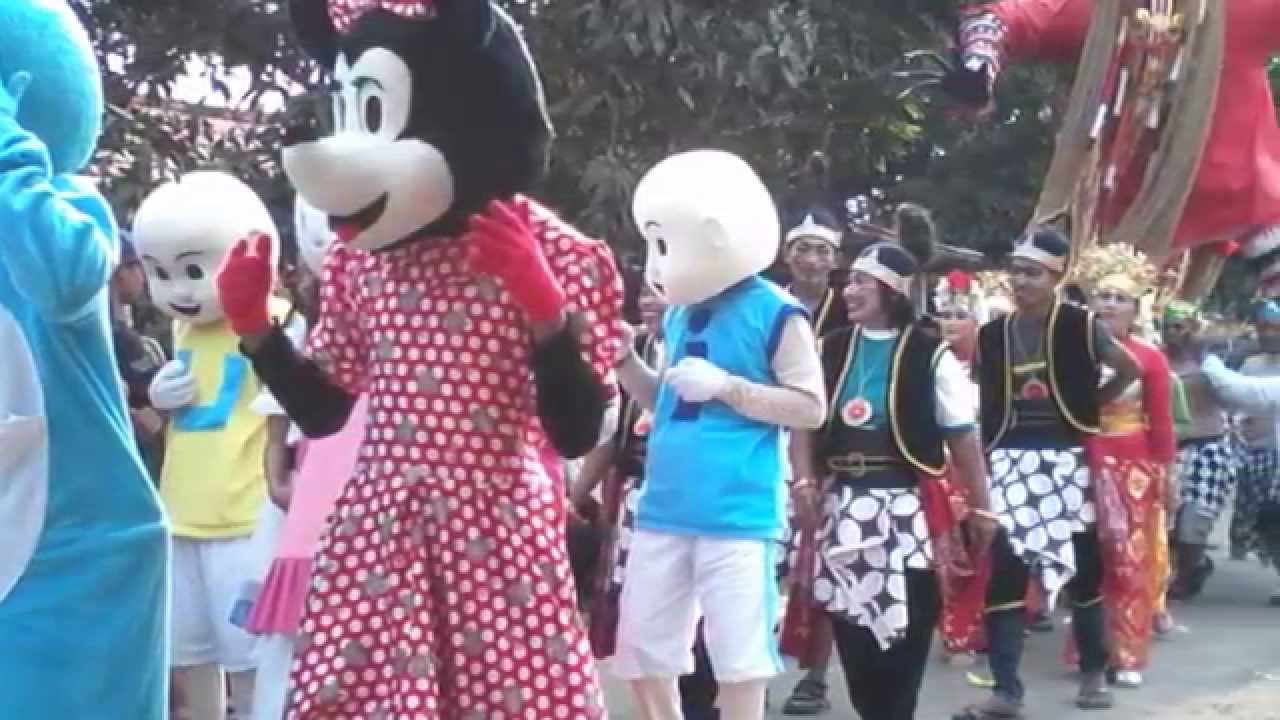 Peringatan Hut Ri Lucu Karnaval Kostum Lucu Imut Imut Peringatan Hut Ri Youtube