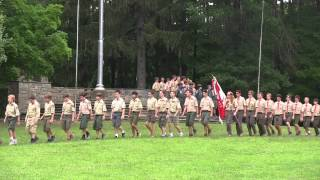 July 17, 2015 - Marching at Camp Manatoc