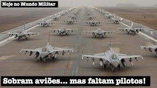 Sobram aviões... mas faltam pilotos! thumbnail