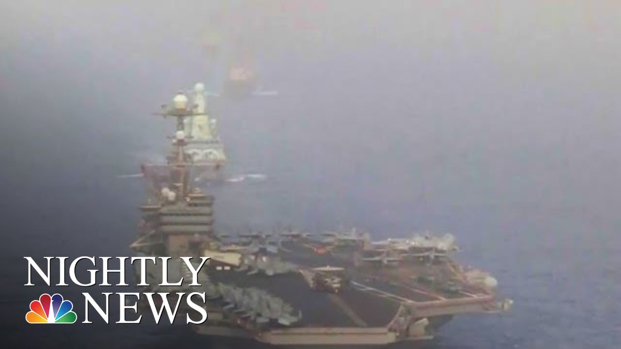 Iran Gave Proxies Green Light To Attack U.S. Forces, Officials Tell NBC News   NBC Nightly News