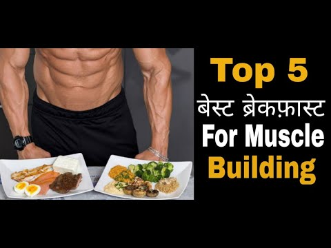 5 Best Breakfast for Muscle Building | Quick & Healthy Breakfast Options Muscle Building 2020