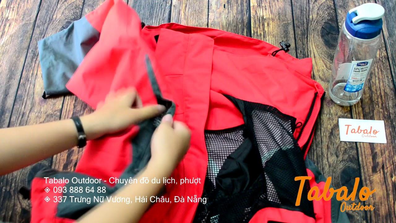 Full chi tiết áo khoác The North Face 3 lớp