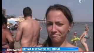 Peste 100.000 de turişti au petrecut sfârșitul de săptămână pe litoral