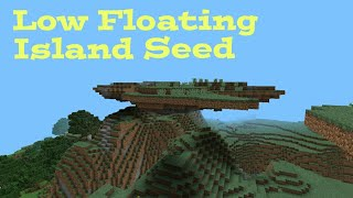 Minecraft Pocket Edition | LOW FLOATING ISLAND SEED! [0.9.4]
