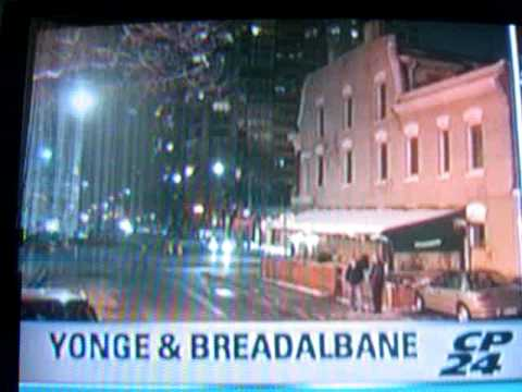 CP24 NEWS Toronto PART 2- KINDRED CAFE RAID - November 21th 2008