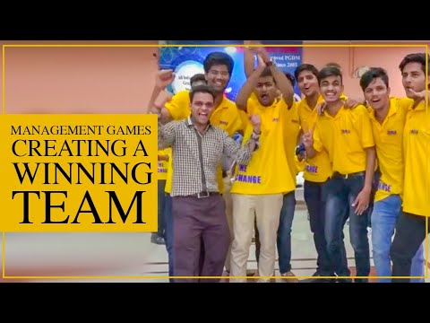 Management Games: Team and Trust Building, Creating a winning Team Taxila Business School