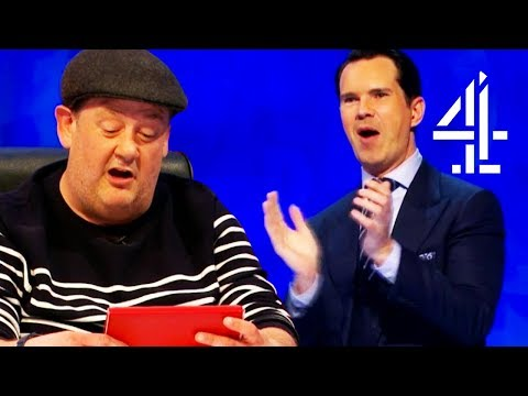 Everyone Is Genuinely Surprised By Johnny Vegas' Very Good Poem! | 8 Out Of 10 Cats Does Countdown