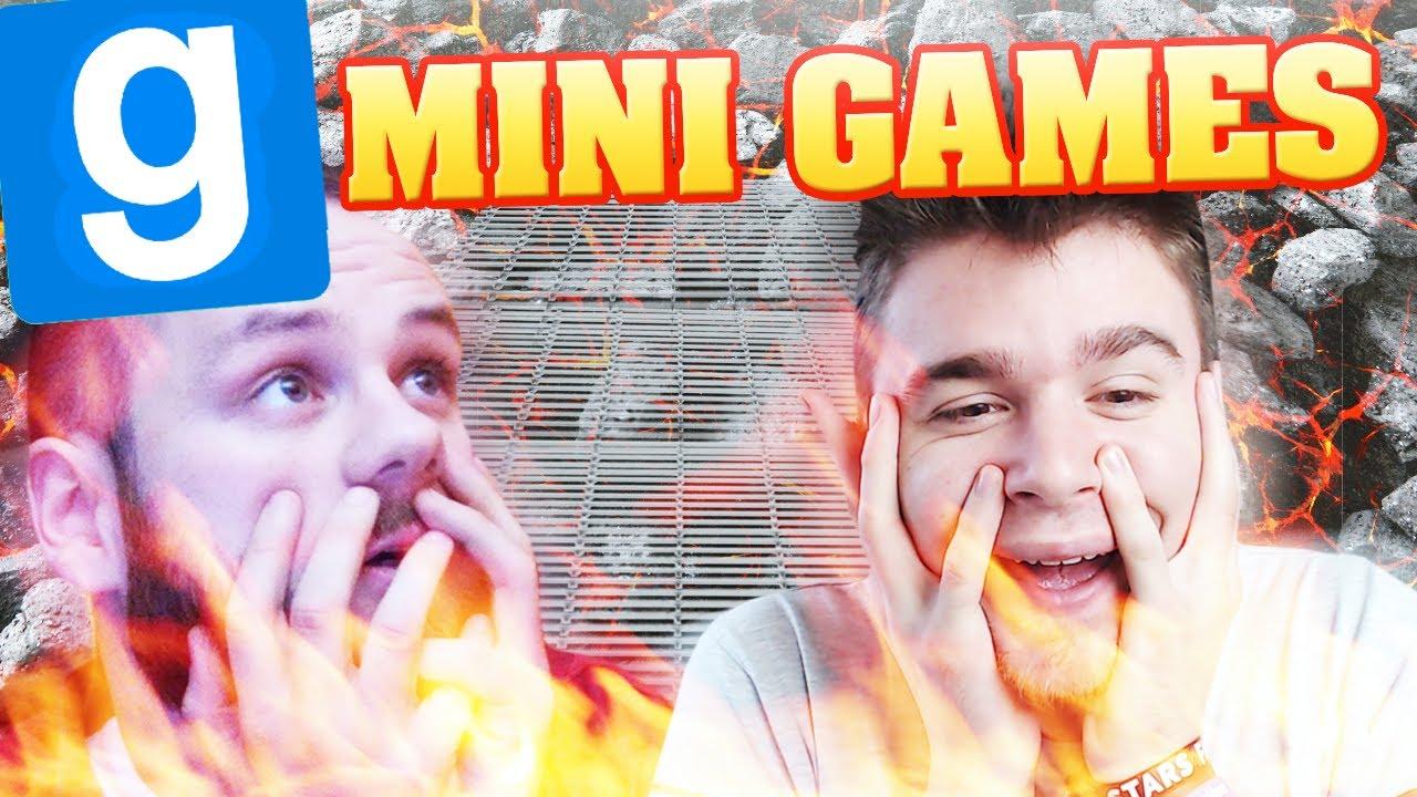 PRZYGODA NA GRILLU!   Garry's mod: Minigames [#14] /With: Admiros