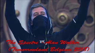 The Spectre -Alan Walker  (Tomorrowland Belgium 2018)