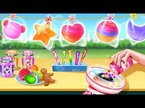 💜 Cotton Candy Shop 😋 Cooking Game 2020 🍬 |