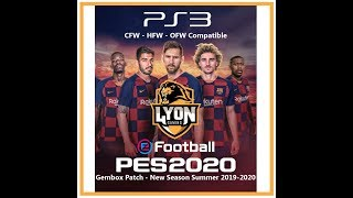 PES 2020 Gembox Patch PS3 - New Season Summer 2019-2020