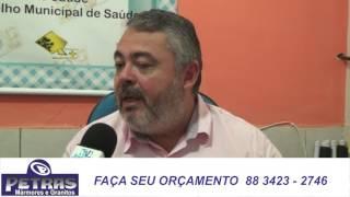 Quixeré: Secretario de Saúde Urânio Nogueira apresenta ações da gestão do prefeito Bessa.