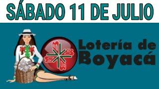 Resultados lotería de Boyaca 11 de Julio de 2020