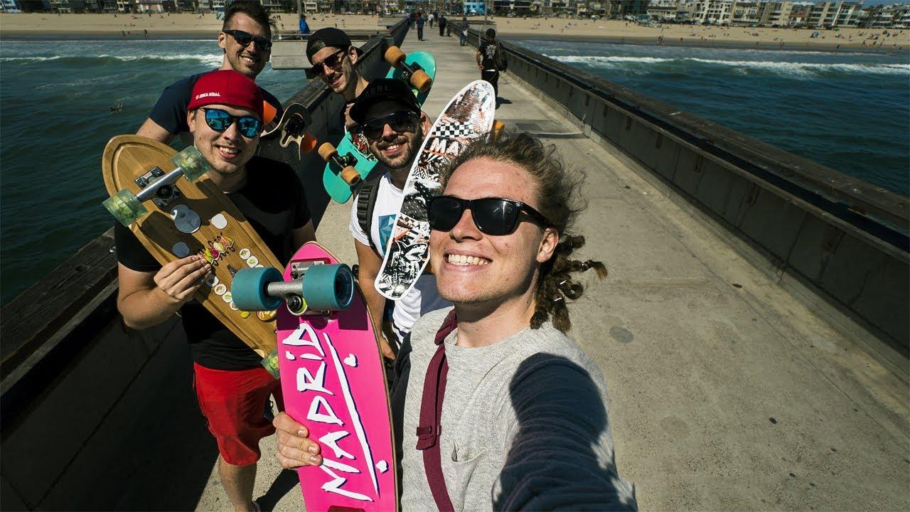 LONGBOARDY NA VENICE BEACH! USA vlog 4