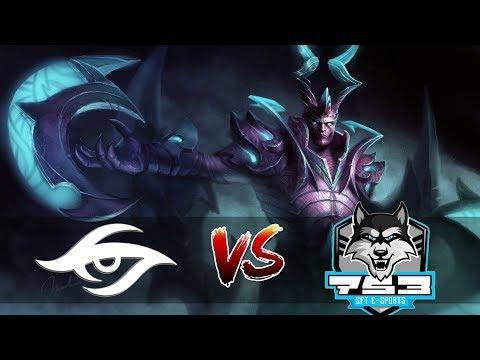 New Secret Roster Debut! ! Team Secret vs SFTe-sports game 2 | SL i-League Invitational #3: EU