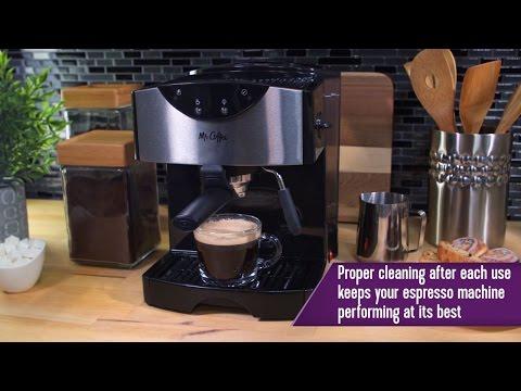 Mr. Coffee® Pump Espresso Maker - ECMP50-RB - -  How to Clean