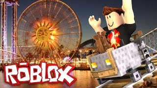 ROBLOX/Building my own amusement park! /Theme Park Tycoon 2