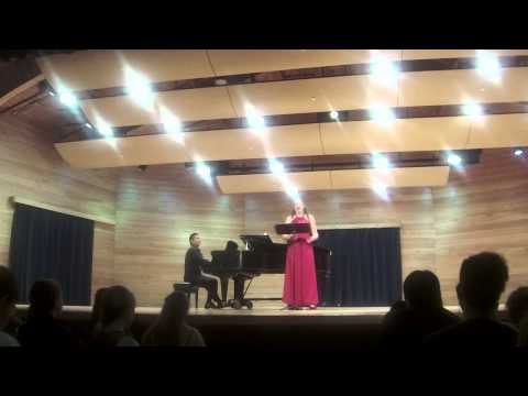 Rachmaninoff songs - Kyle Engler, mezzo-soprano and Daniel Lau, piano