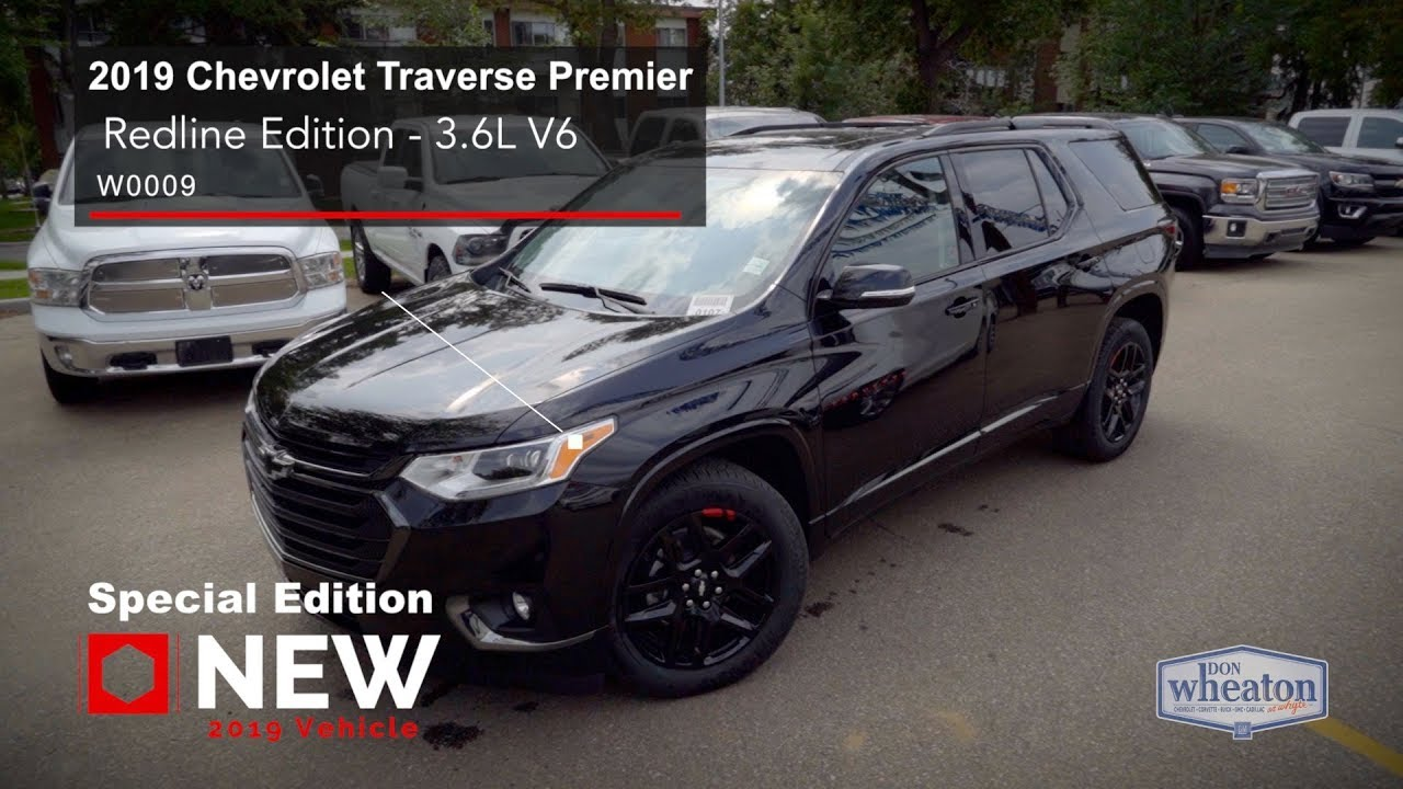 2019 Chevrolet Traverse Premier Redline Edition Walkaround Youtube