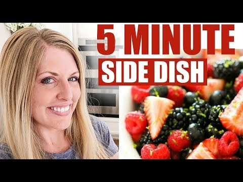 How to Make Fresh Berry Fruit Salad - The PERFECT End of