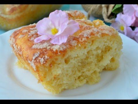 Сладкий пирог из дрожжевого
