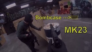 Tm's MK23 The silent assasin l StookiTV l Airsoft Gameplay