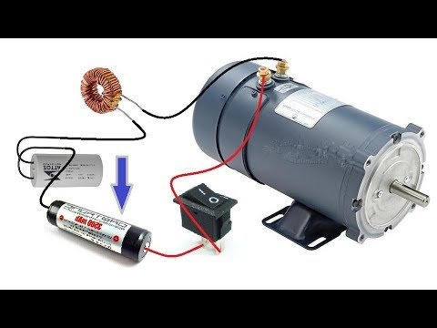 Run 1500W DC Motor with 3V cell || New Amazing Hack