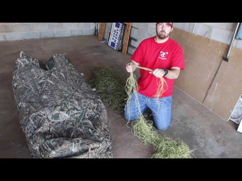 How To Brush In Layout Blind | Avery KillerWeed