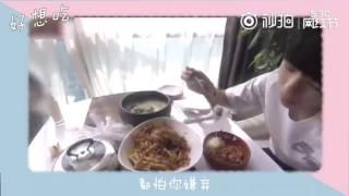 Những khoảnh khắc ăn uống của Vương Tuấn Khải part 2.