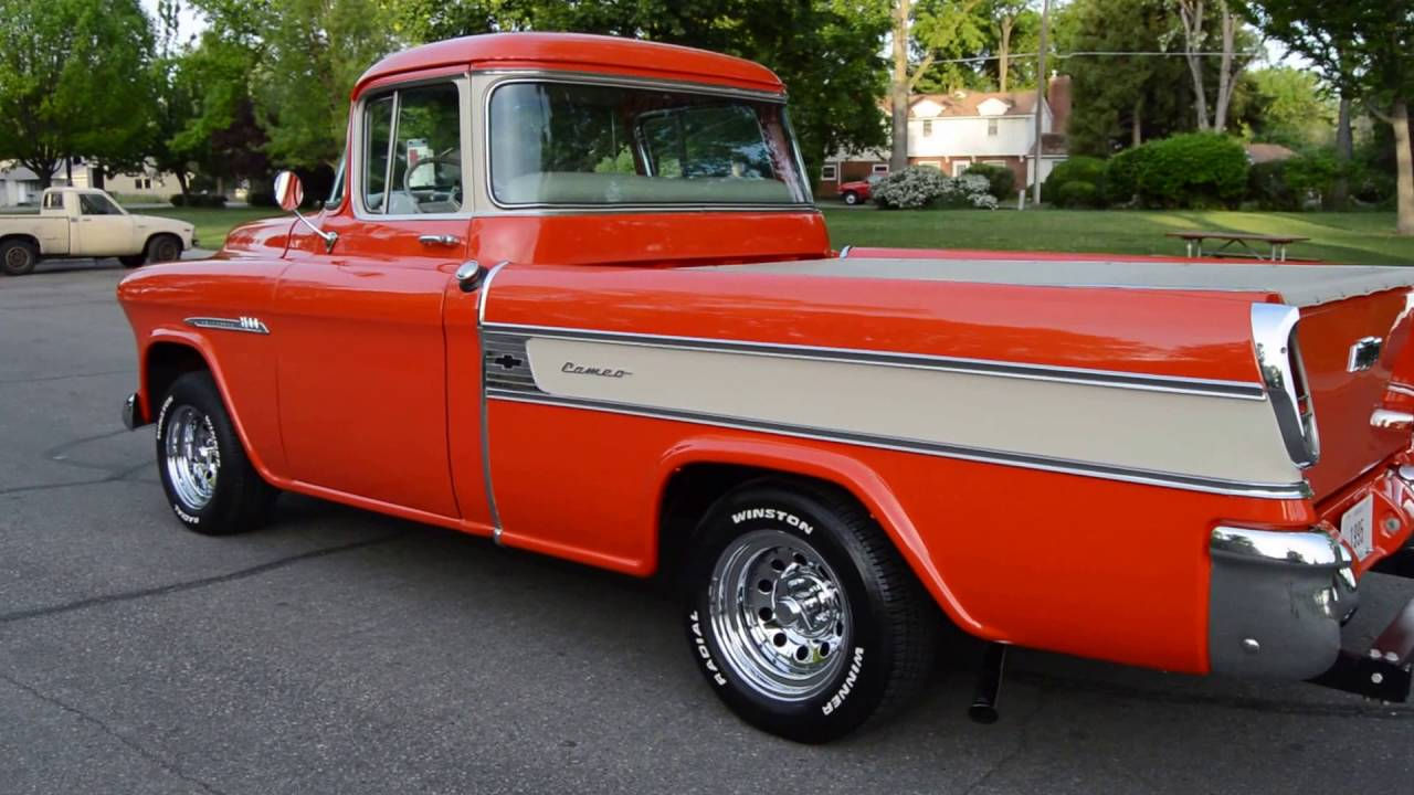 1955 Chevrolet Cameo Carrier Pickup - Ross\'s Valley Auto Sales ...